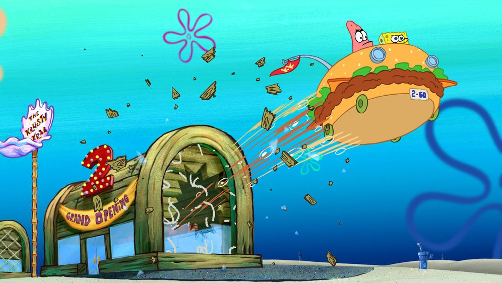 Der SpongeBob Schwammkopf Film - Bildquelle: 2004 Paramount Pictures and Viacom International Inc. All Rights Reserved.