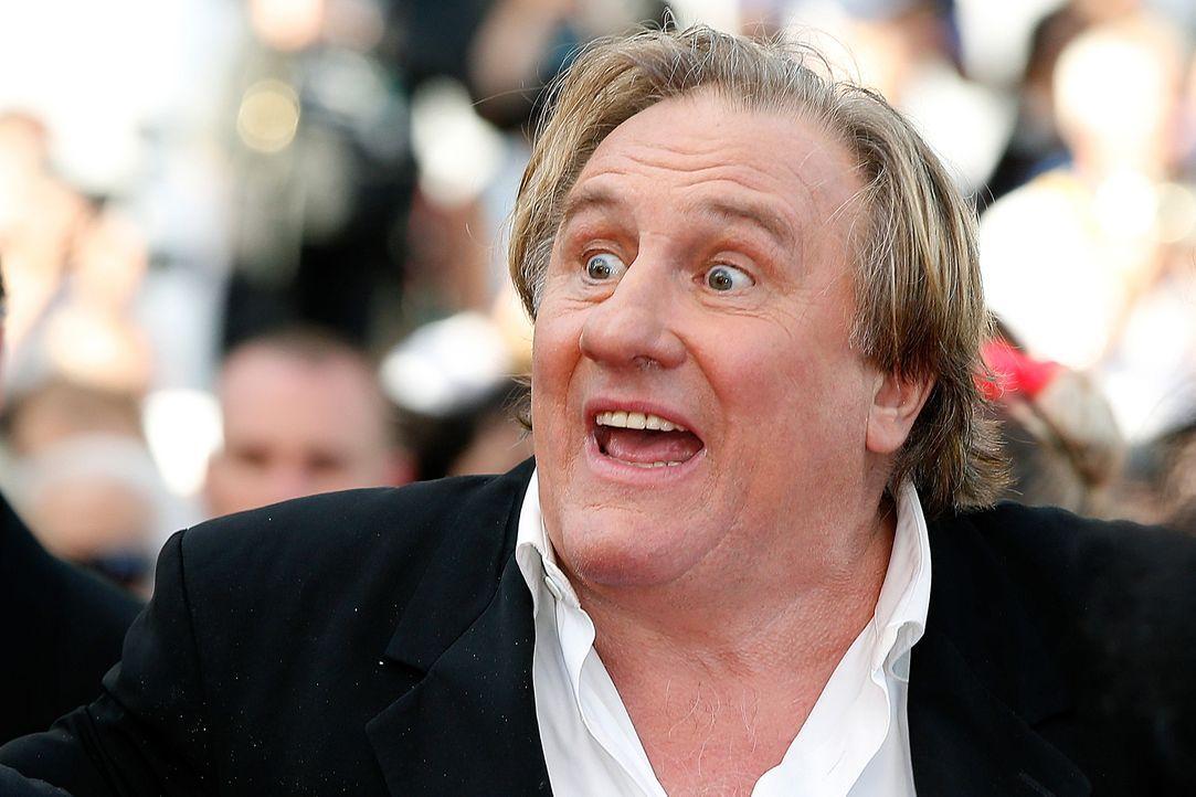 Cannes-Filmfestival-Gerard-Depardieu-140518-AFP - Bildquelle: AFP