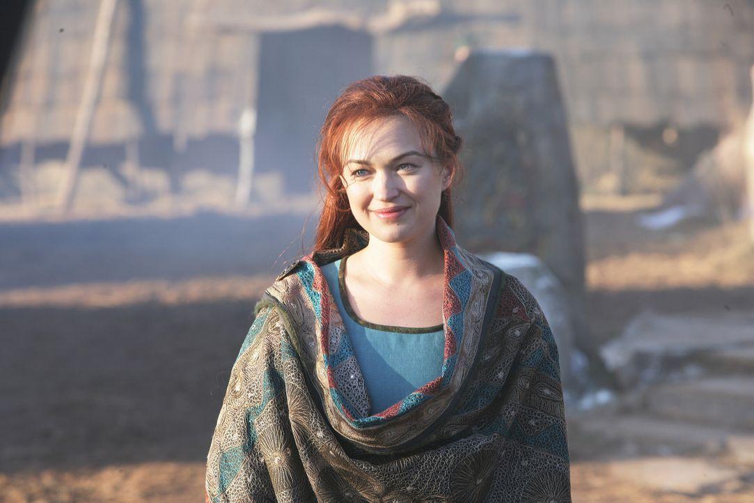 Verliert ihr Herz an einen Fremden aus einer fernen Galaxie: Wikinger-Prinzessin Freya (Sophia Myles) ... - Bildquelle: Telepool