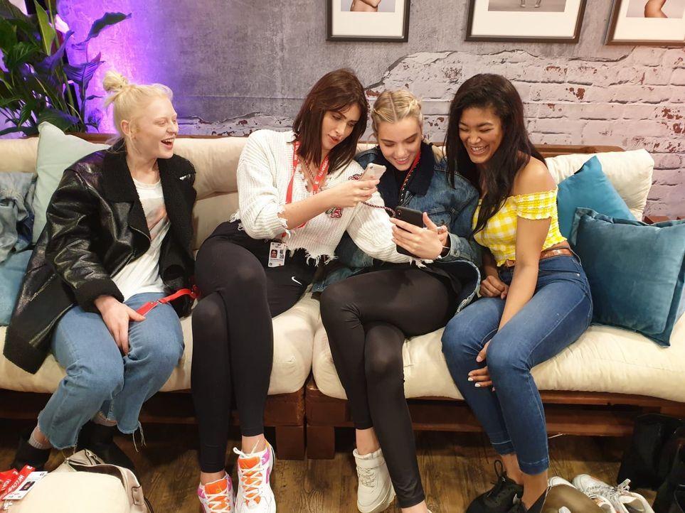 Melissa, Julia, Sarah und Leonela