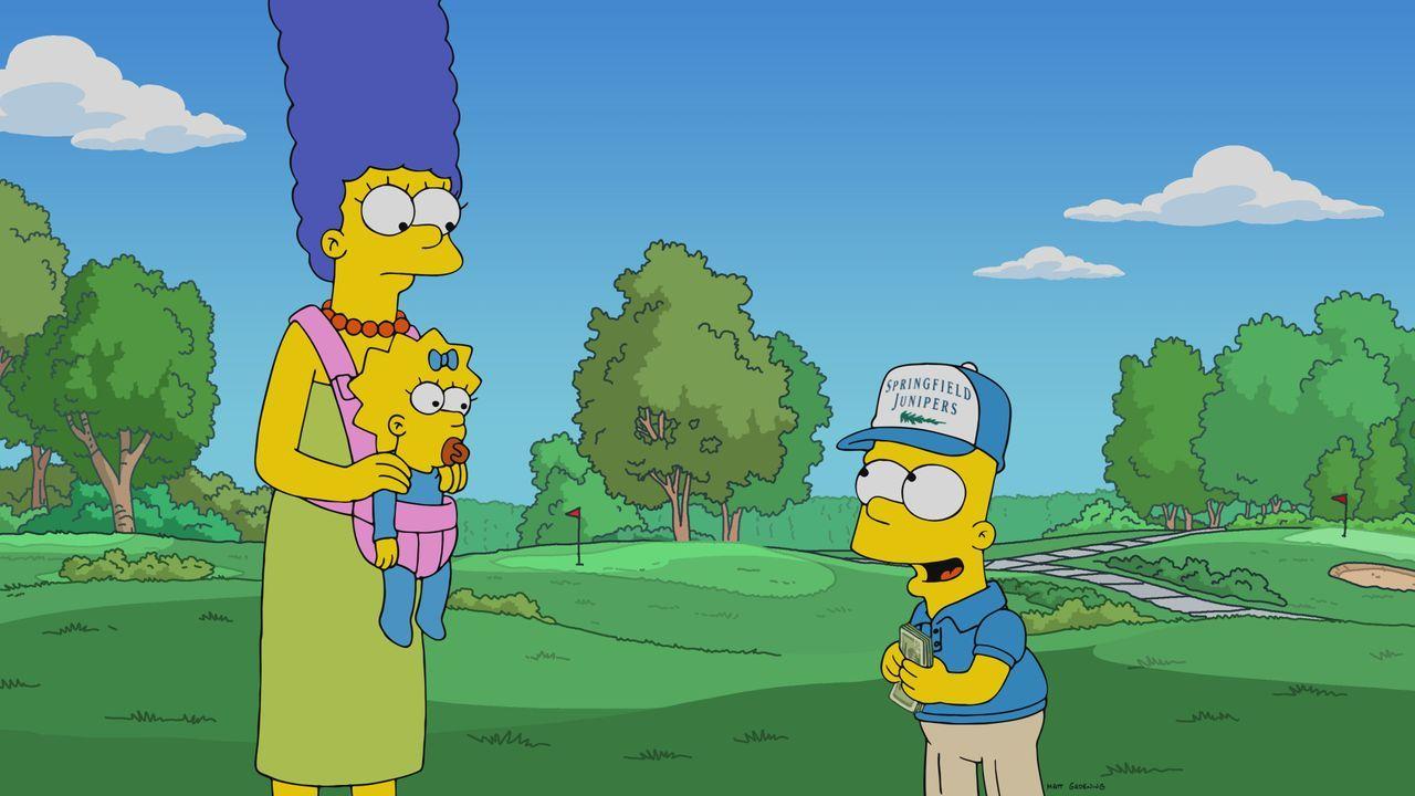 (v.l.n.r.) Marge; Maggie; Bart - Bildquelle: 2021 by 20th Television.