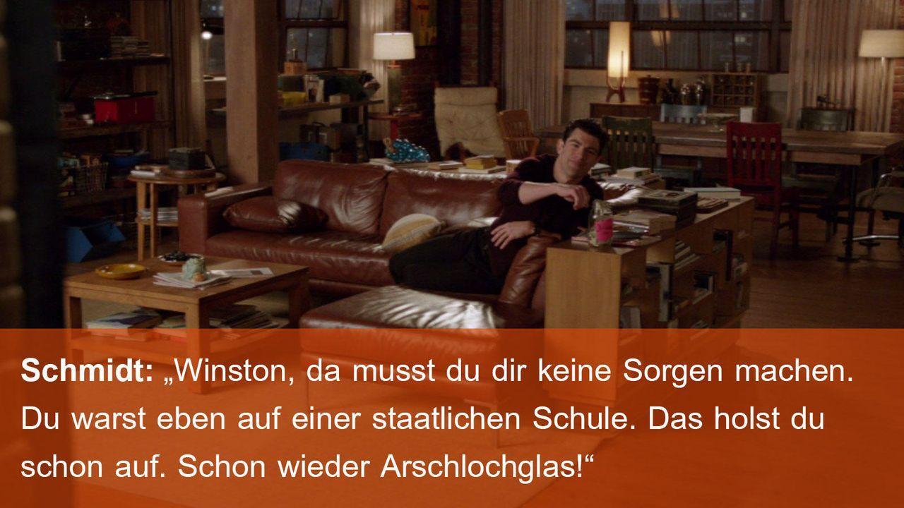 New Girl - Zitat - Folge 17 - Schmidt 2 (Max Greenfield) 1600 x 900 - Bildquelle: 20th Century Fox