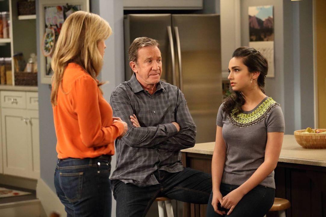 Jetzt, da sich ihre Tochter Mandy (Molly Ephraim, r.) für ein College in Kalifornien entschieden hat, fragen sich Mike (Tim Allen, M.) und Vanessa (... - Bildquelle: 2011 Twentieth Century Fox Film Corporation