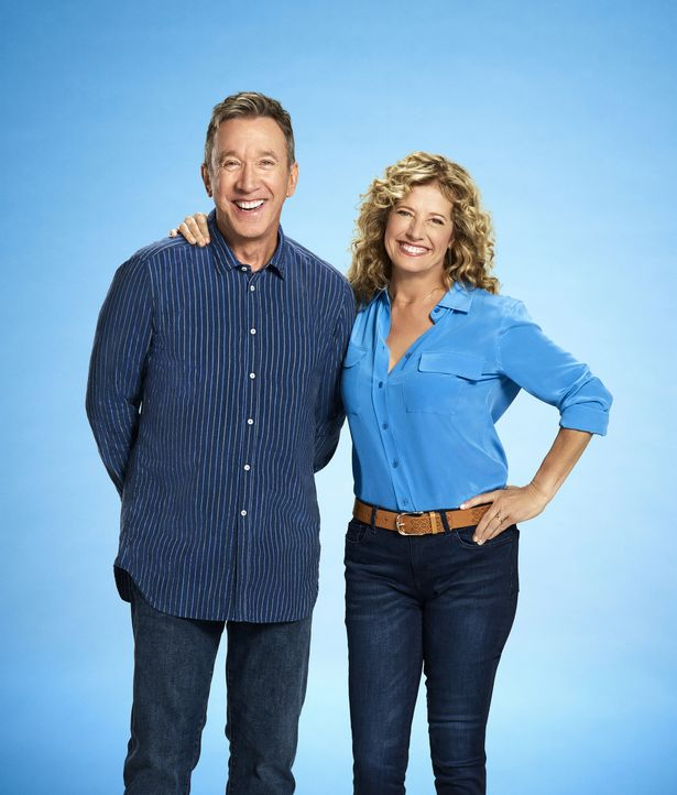 (7. Staffel) - Mike Baxter (Tim Allen, l.); Vanessa Baxter (Nancy Travis, r.) - Bildquelle: 2018-2019 Twentieth Century Fox Film Corporation. All rights reserved.