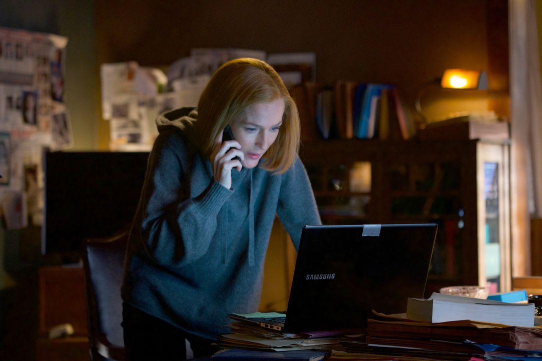 Kämpft bis zum bittere Ende für die Menschheit: Scully (Gillian Anderson) ... - Bildquelle: Shane Harvey 2018 Fox and its related entities.  All rights reserved.