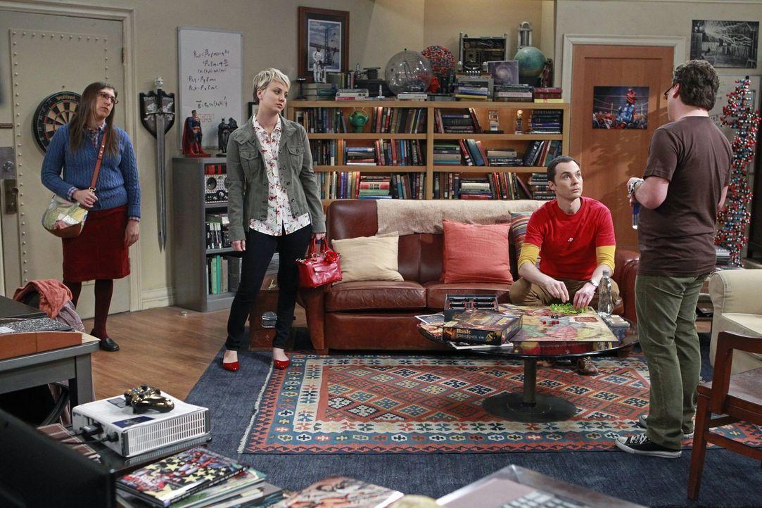 Wollen einen gemeinsamen Ausflug machen - doch wird er so ausgehen, wie es sich alle vorgestellt haben? Leonard (Johnny Galecki, r.), Sheldon (Jim P... - Bildquelle: Warner Bros. Television