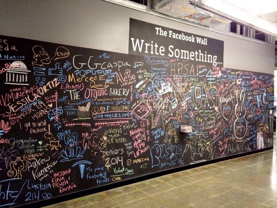 Die Facebook Wall