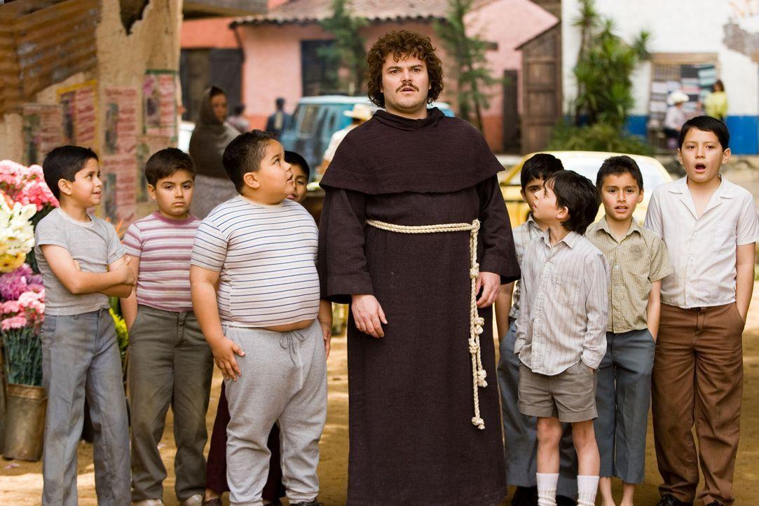 Der Koch eines mexikanischen Klosters, Ignacio (Jack Black, M.), hat eine außergewöhnliche Idee, wie er an Geld kommen könnte, um den Waisenhausk... - Bildquelle: Paramount Pictures