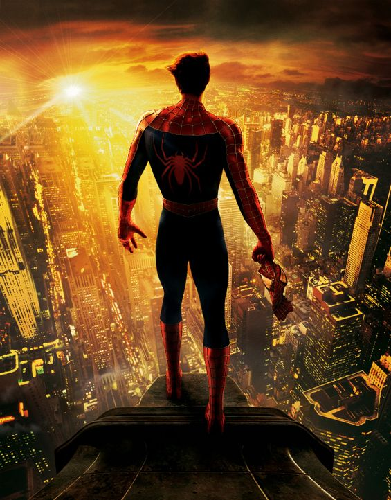 Peter Parker alias Spider-Man (Tobey Maguire) ist ratlos: Soll er sich dem privaten Glück, also der Liebe zu Mary Jane widmen, oder sich der Verant... - Bildquelle: Sony Pictures Television International. All Rights Reserved.