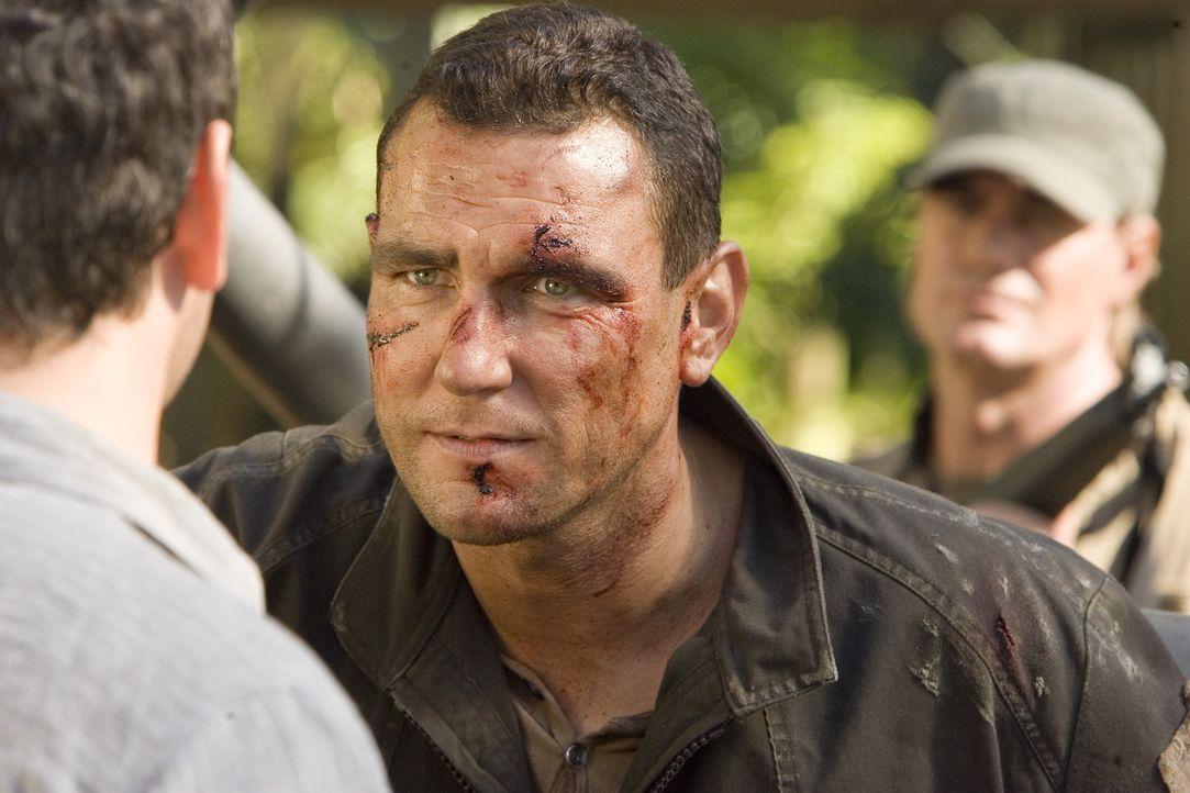 Zehn zum Tode verurteilte Schwerverbrecher (Vinnie Jones) kämpfen in einer Reality-Show ums Überleben ... - Bildquelle: 2007 WWE Films, Inc. All Rights Reserved.