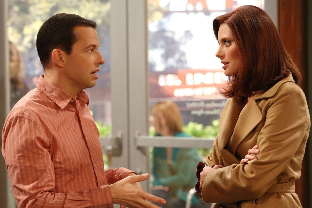 Haben Alan (Jon Cryer, l.) und Kandi (April Bowlby, r.) eine Chance auf einen Neuanfang? - Bildquelle: Warner Bros. Television