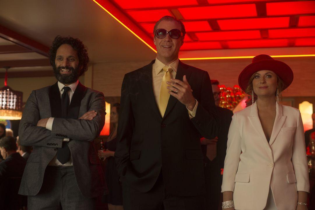 (v.l.n.r.) Frank (Jason Mantzoukas); Scott Johansen (Will Ferrell); Kate Johansen (Amy Poehler) - Bildquelle: Warner Bros.