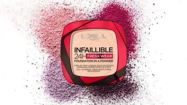 Puder-Foundation Infaillible 24h Fresh-Wear von L'Oréal Paris – was die Puder...