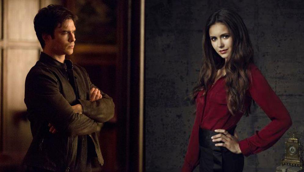 Vampire Diaries Finale Staffel 8 Dicke Luft Bei Nina Dobrev Und