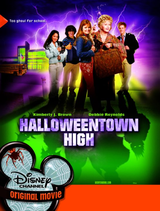 Halloweentown III: Halloweentown Highschool mit Debbie Reynolds, 2.v.r. und Kimberly J. Brown, 3.v.l. - Bildquelle: The Disney Channel