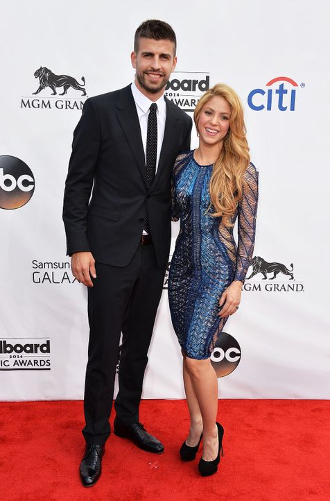 Billboard-Music-Awards-Shakira-Gerard-Pique-14-05-18-getty-AFP - Bildquelle: getty-AFP
