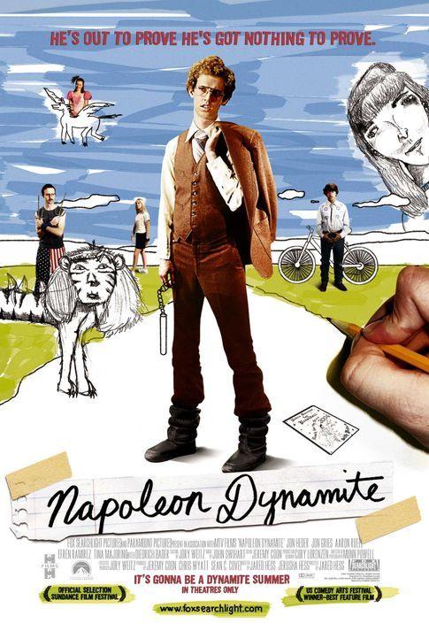 Napoleon Dynamite - Plakatmotiv - Bildquelle: TM & © 2006 Paramount Pictures. All Rights Reserved.