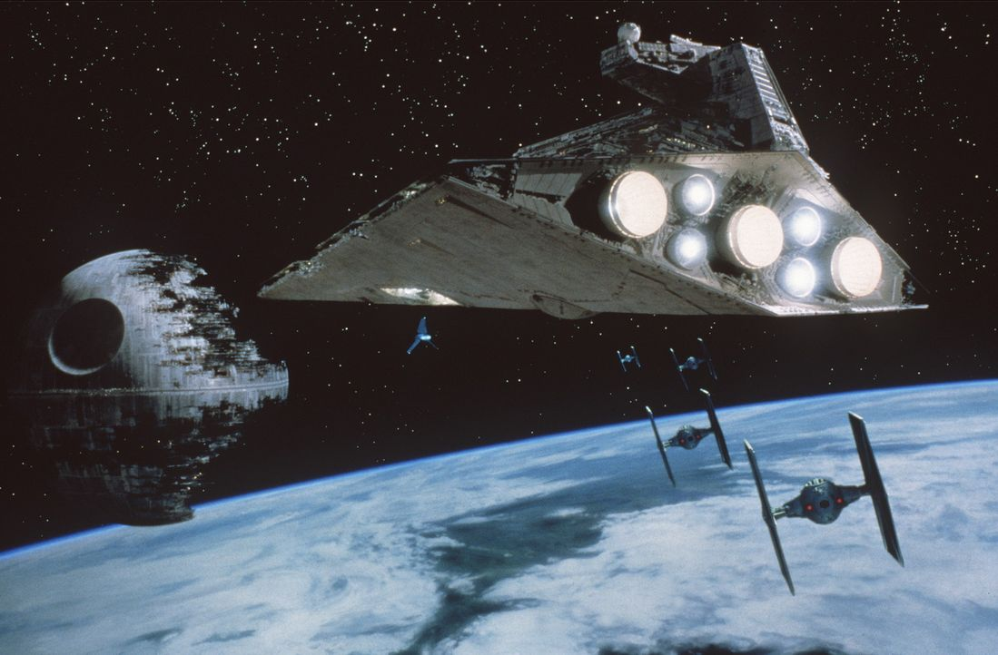 Um den im Bau befindlichen neuen Todesstern zu zerstören, nehmen Leia, Han Solo und Luke erneut den Kampf gegen das Imperium auf ... - Bildquelle: Lucasfilm LTD. & TM. All Rights Reserved.