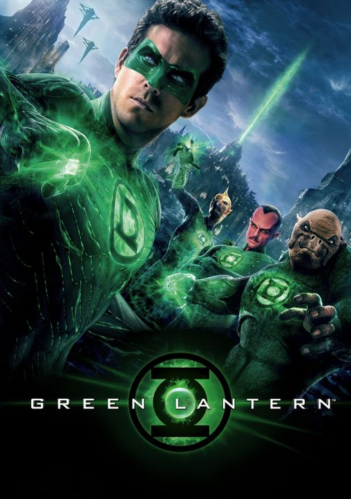Green Lantern - Artwork - Bildquelle: Warner Bros.