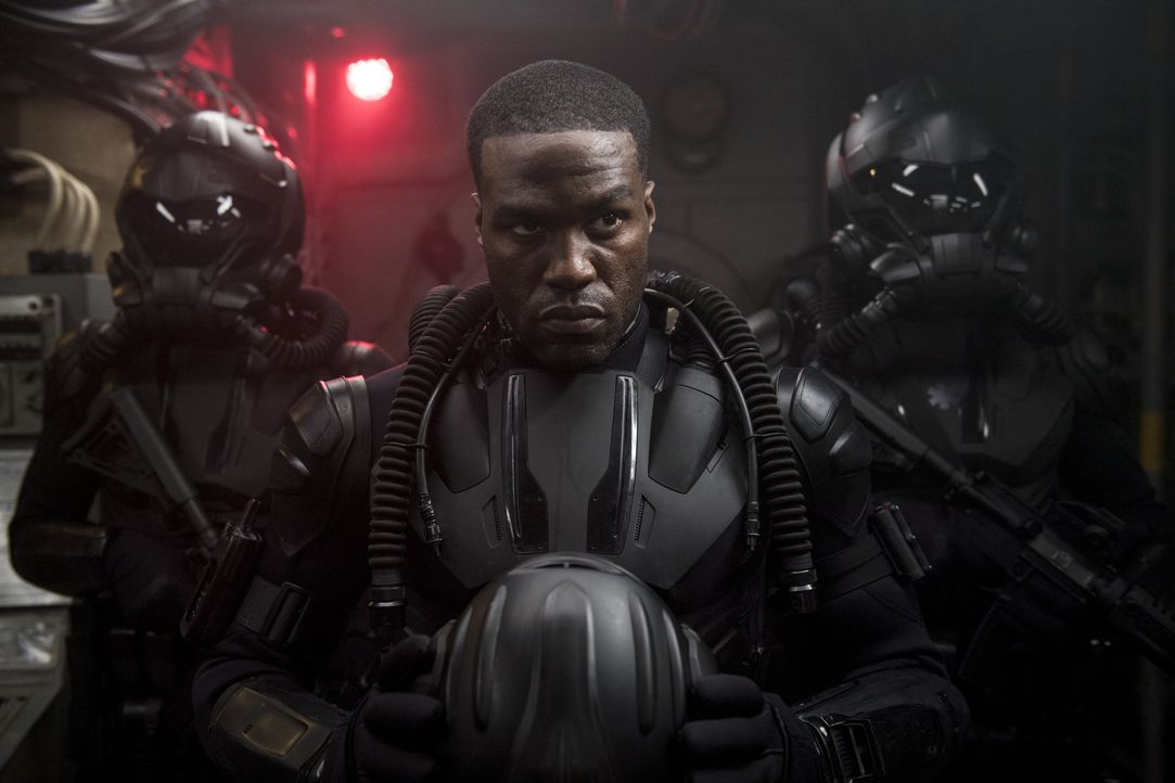 David Kane / Black Manta (Yahya Abdul-Mateen II) - Bildquelle: TM and © DC © Warner Bros. Ent. Inc.  All Rights Reserved.
