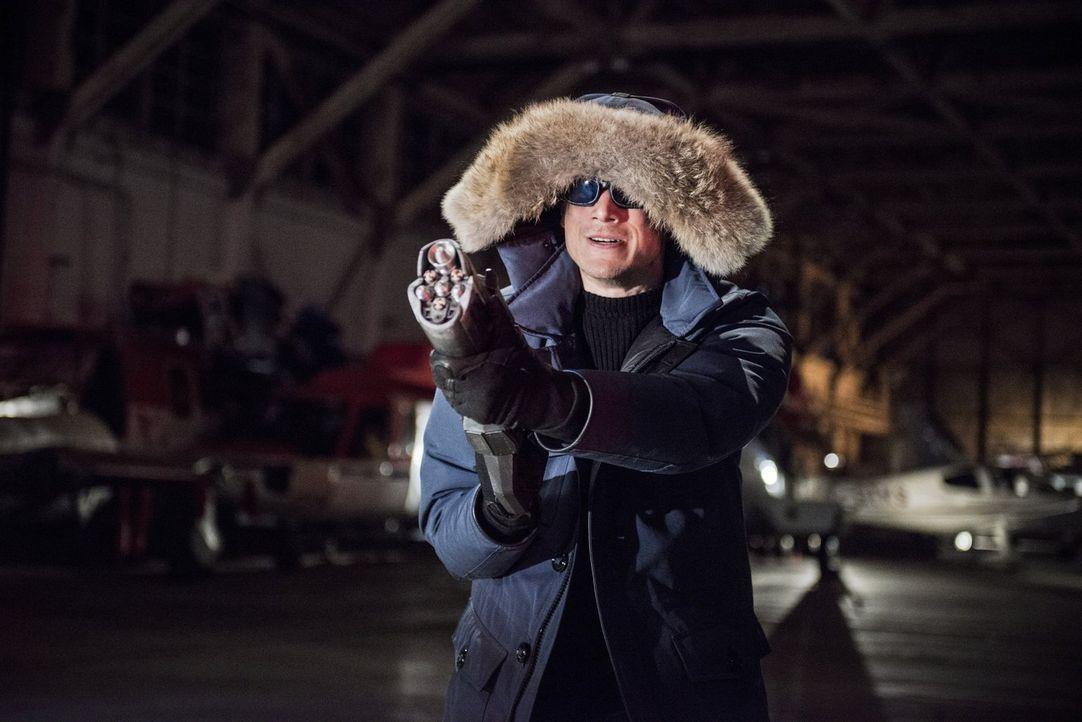 """Ist zurück in Central City, um Barry alias """"The Flash"""" auszuschalten: Leonard Snart alias Captain Cold (Wentworth Miller). Doch Barry weiß, wie er s... - Bildquelle: Warner Brothers."""