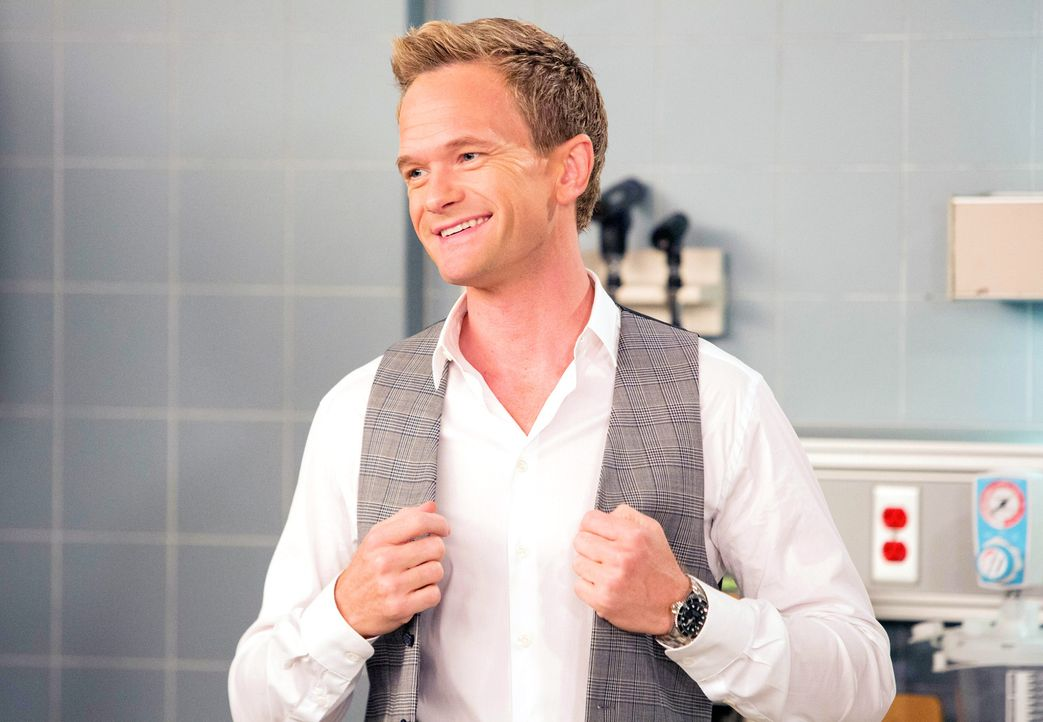 Kurz vor seiner Hochzeit mit Robin muss Barney (Neil Patrick Harris) Marshall aus einer misslichen Lage retten - ohne Fragen zu stellen ... - Bildquelle: 2013 Twentieth Century Fox Film Corporation. All rights reserved.
