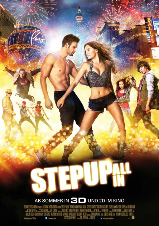 Step-Up-All-In-Plakat-Constantin-Film - Bildquelle: Constantin Film Verleih GmbH