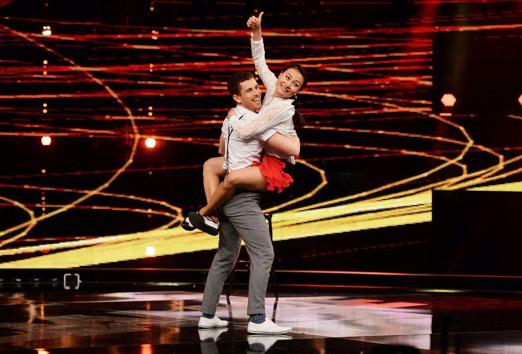 Got-To-Dance-Daniel-und-Claire-06-SAT1-ProSieben-Willi-Weber - Bildquelle: SAT.1/ProSieben/Willi Weber