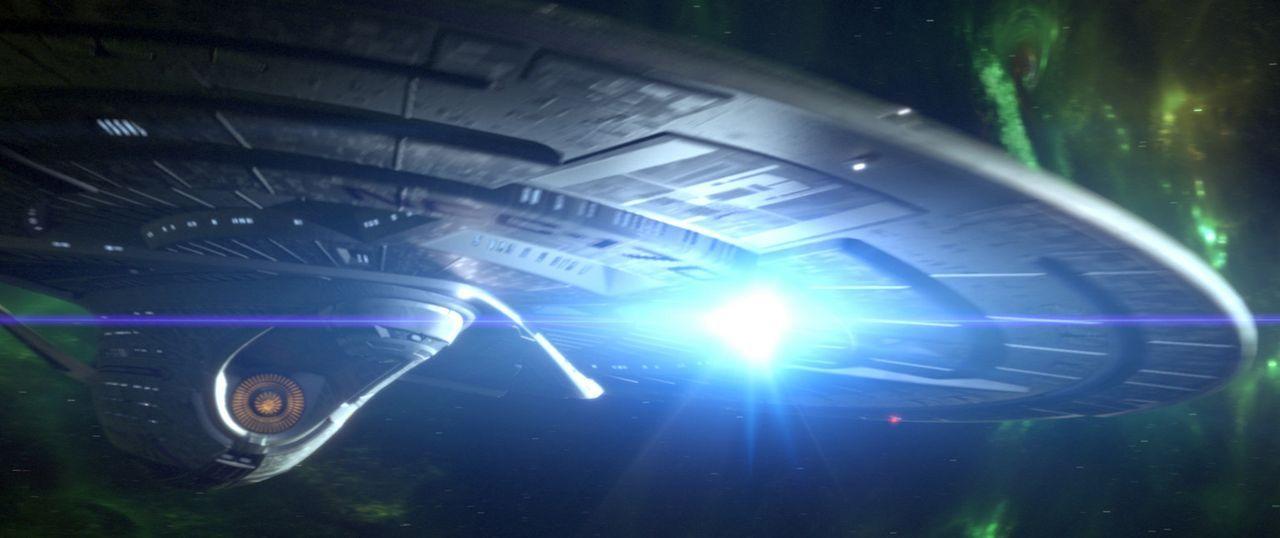 Auf Entdeckungsreise durchs Weltall ... - Bildquelle: Paramount Pictures