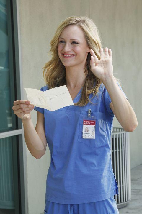 Muss erfahren, was es bedeutet, ein Arzt zu sein: Lucy (Kerry Bishe) ... - Bildquelle: Touchstone Television