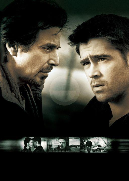 Der Einsatz - Artwork - Treiben ein unermüdliches Katz- und Mausspiel miteinander: Al Pacino, l. und Colin Farrell, r. ... - Bildquelle: Kerry Hayes SPYGLASS ENTERTAINMENT GROUP.LP.ALL RIGHTS RESERVED