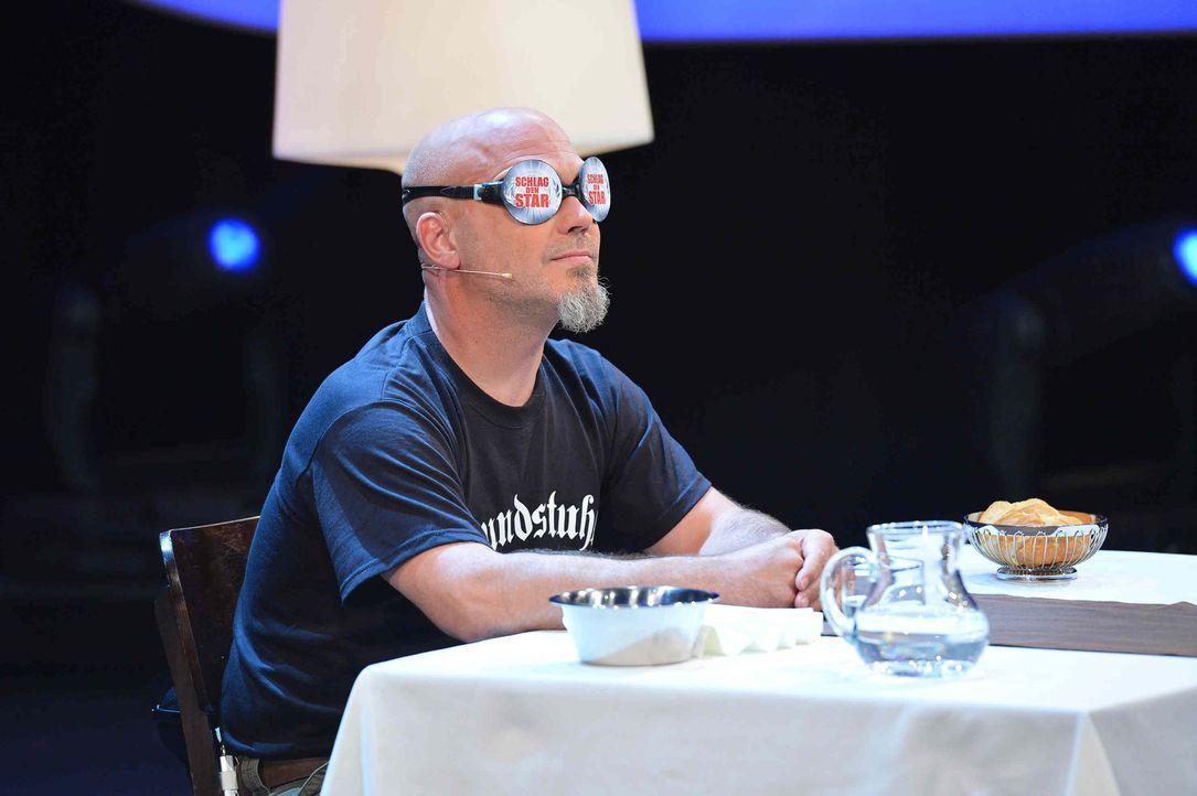 """Ande von Mudstuhl stellt sich in """"Schlag den Star"""" seinem Herausforderer ... - Bildquelle: Willi Weber ProSieben"""