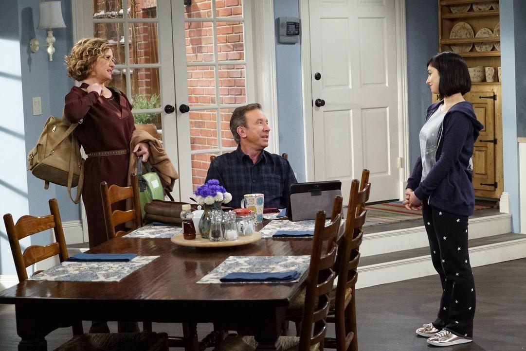(v.l.n.r.) Vanessa Baxter (Nancy Travis); Mike Baxter (Tim Allen); Mandy Baxter (Molly Ephraim) - Bildquelle: 2015-2016 American Broadcasting Companies. All rights reserved.