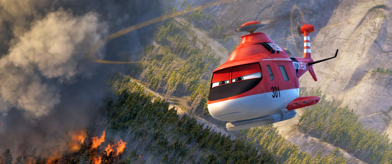 Planes-2-Immer-im-Einsatz-02-Walt-Disney - Bildquelle: 2014 Disney Enterprises, Inc. All Rights Reserved.