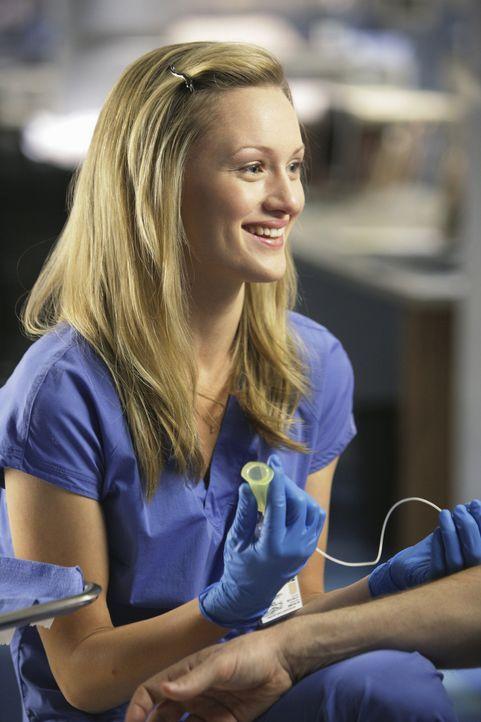 Hat Schwierigkeiten, ohne J.D.s Hilfe eine Prüfung zu bestehen: Lucy (Kerry Bishe) ... - Bildquelle: Touchstone Television