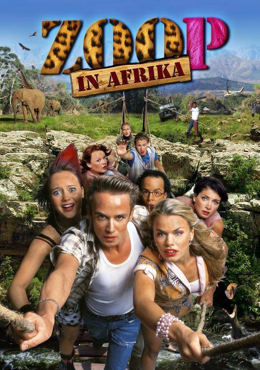 Zoorangers in Afrika - Plakatmotiv