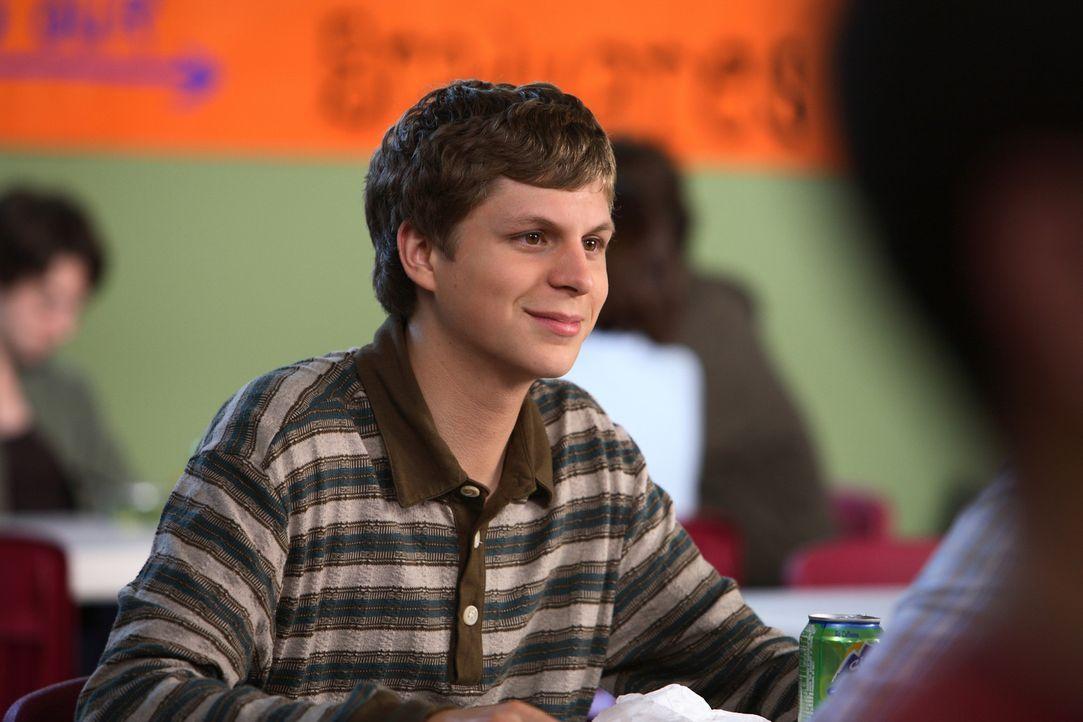 Der schüchterne Evan (Michael Cera) hat einen Traum. Er möchte am Ende seiner Schulzeit wenigstens ein einziges Mal erreichen, dass er so beliebt is... - Bildquelle: 2008 CPT Holdings, Inc. All Rights Reserved. (Sony Pictures Television International)