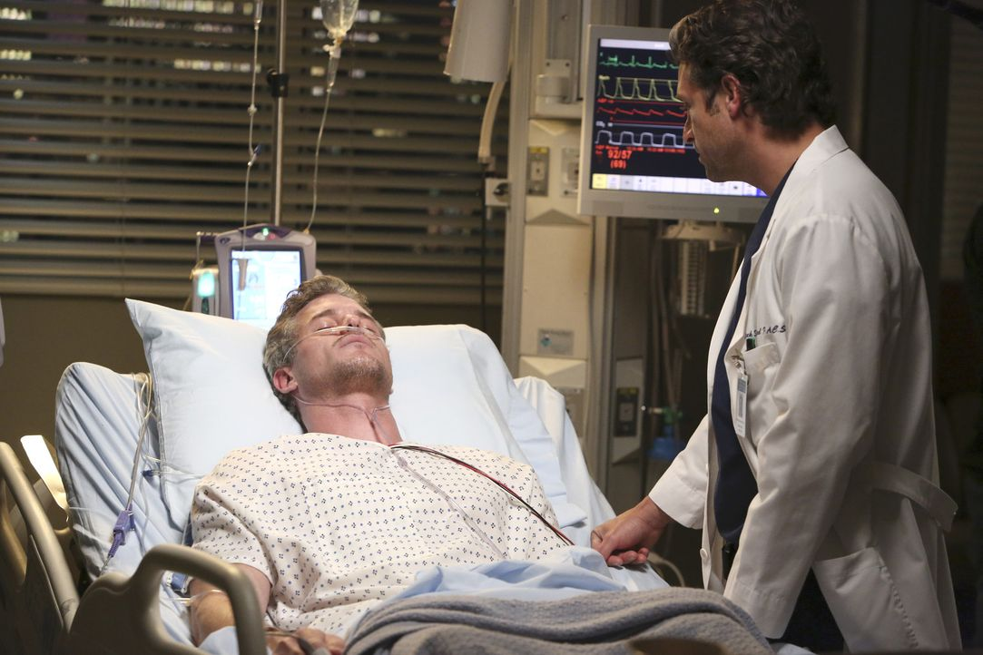 Rückblick: Nachdem Flugzeugabsturz versuchen Mark (Eric Dane, l.) und Derek (Patrick Dempsey, r.) wieder etwas Normalität in ihr Leben zu bekommen... - Bildquelle: ABC Studios