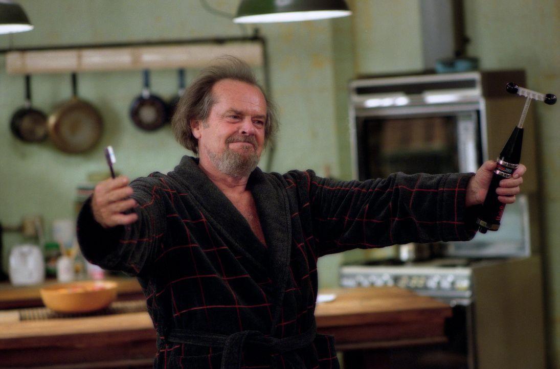 Dr. Buddy Rydell (Jack Nicholson) besteht auf eine radikale Rundum Therapie um David durch alle  Lebenslagen zu begleiten und zieht deshalb bei Davi... - Bildquelle: 2003 Sony Pictures Television International. All Rights Reserved.