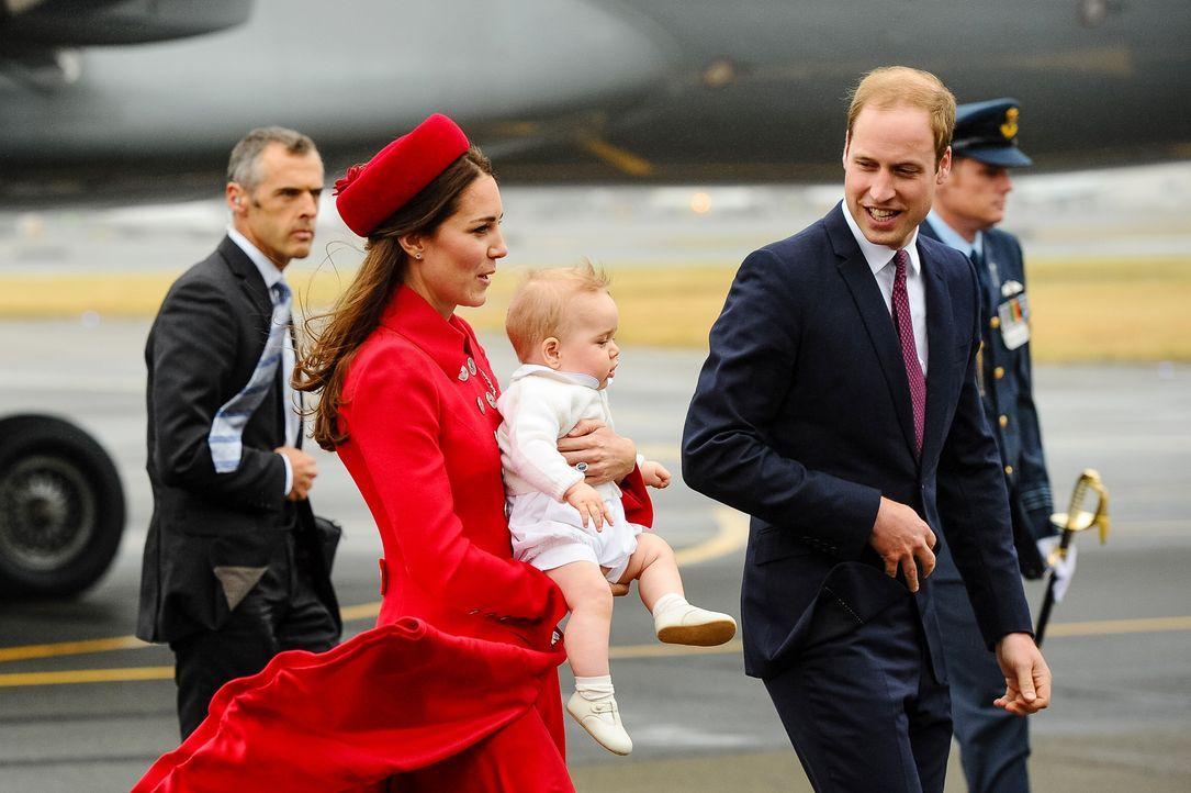 Prinz-William-Catherine-George-Neuseeland-14-04-07-3-AFP - Bildquelle: AFP