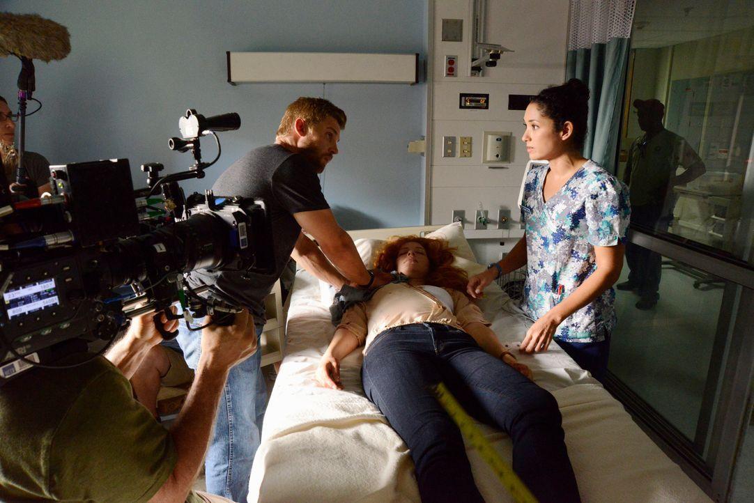 Under The Dome - Behind The Scenes - Bild vom Set der Serie1 - Bildquelle: CBS Television