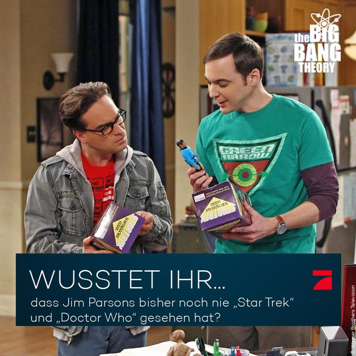 Big Bang Theory Trivia: Star Trek und Doctor Who - Bildquelle: Warner Brothers Television