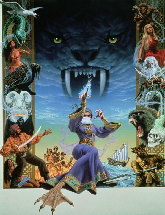 Verfolgt von einer machthungrigen Zauberin suchen Sindbad und seine Gefährten eine geheimnisvolle Kraft, die dem in einen Affen verwandelten rechtmä... - Bildquelle: Columbia Pictures