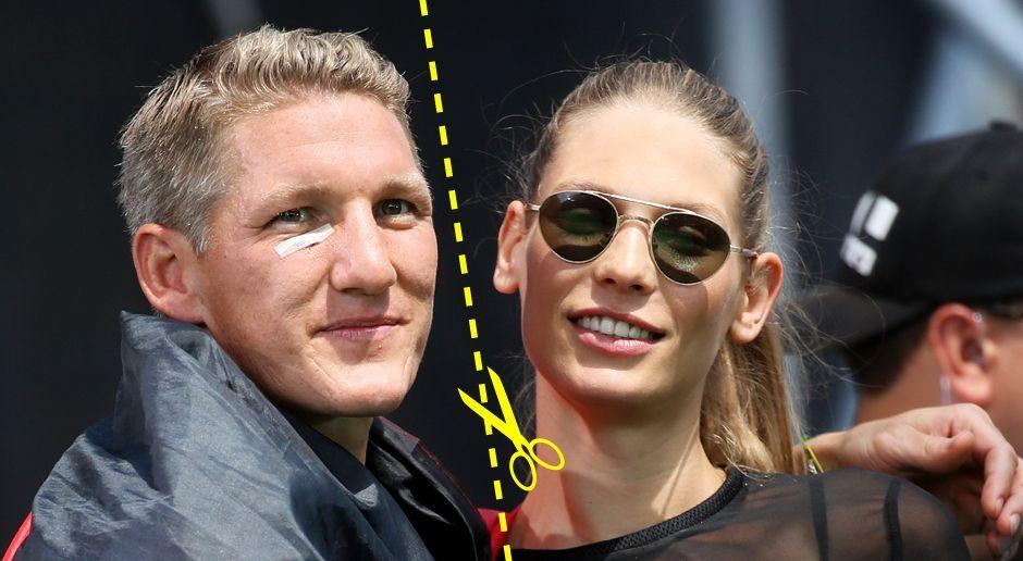 Bastian Schweinsteiger und Sarah Brandner - Bildquelle: dpa