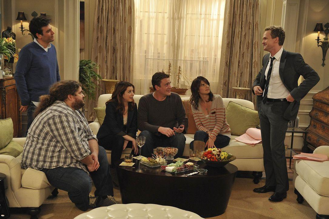 Da Ted am Abend vor Thanksgiving die Clique frühzeitig verlassen hat, hat er einiges verpasst. Daraufhin glauben seine Freunde, dass er der neue Bl... - Bildquelle: 20th Century Fox International Television