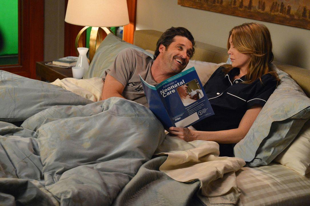 Meredith (Ellen Pompeo, r.) macht sich Sorgen um ihr ungeborenes Baby. Sie geht vom Schlimmsten aus, um auf alles vorbereitet zu sein. Derek (Patric... - Bildquelle: ABC Studios