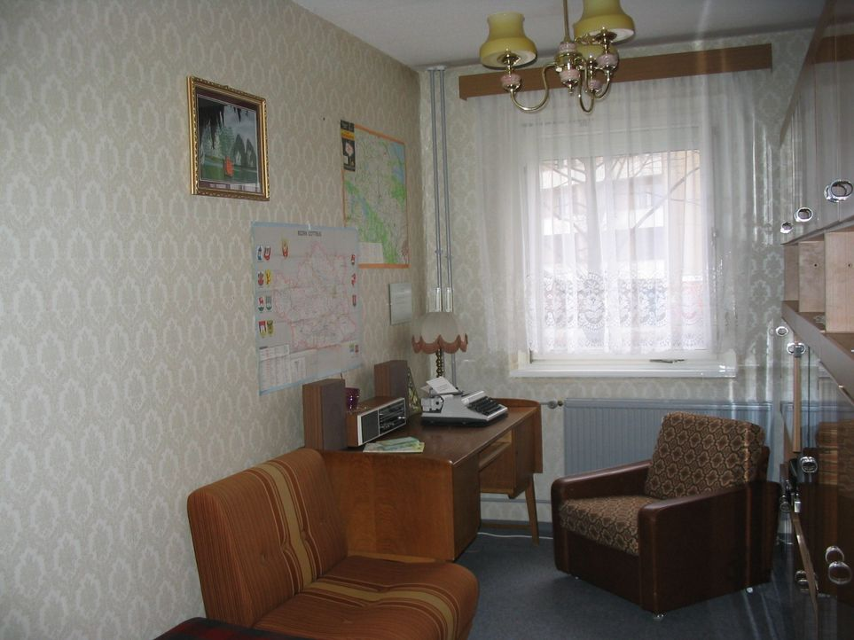 Museumswohnung Arbeitszimmer