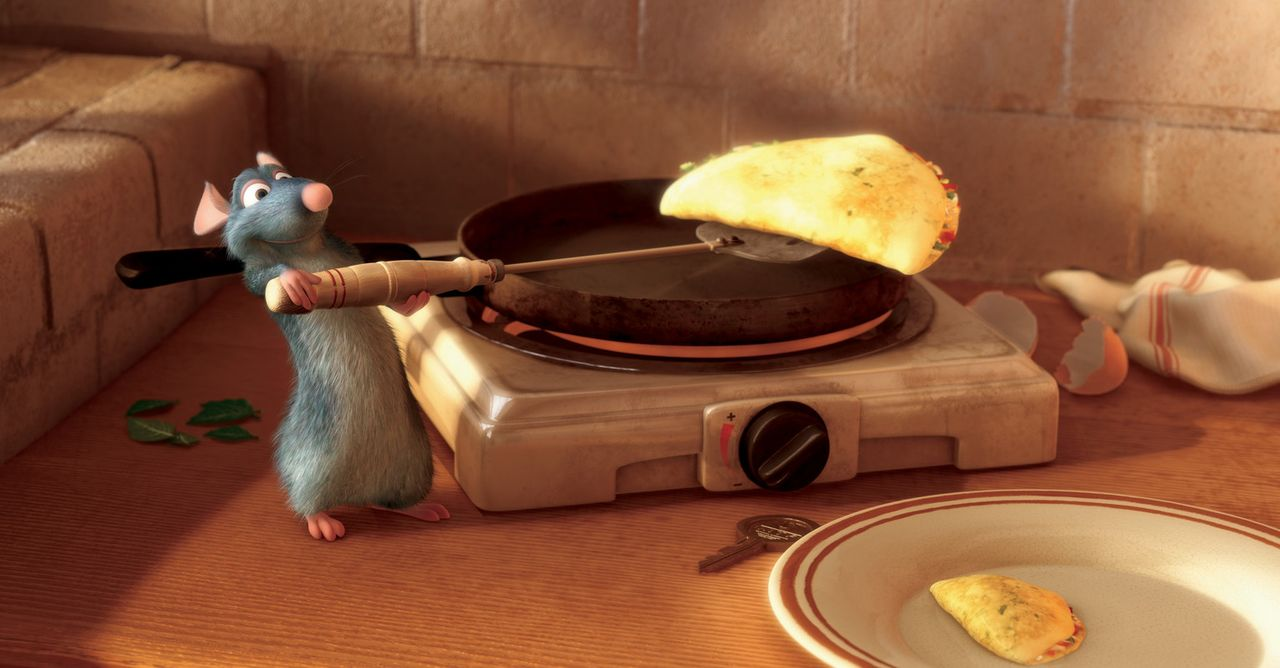 """Ende gut, alles gut: Endlich kann Remy sein eigenes Restaurant namens """"La Ratatouille"""" eröffnen, das sich schon bald großer Beliebtheit erfreut ... - Bildquelle: Disney/Pixar.  All rights reserved"""