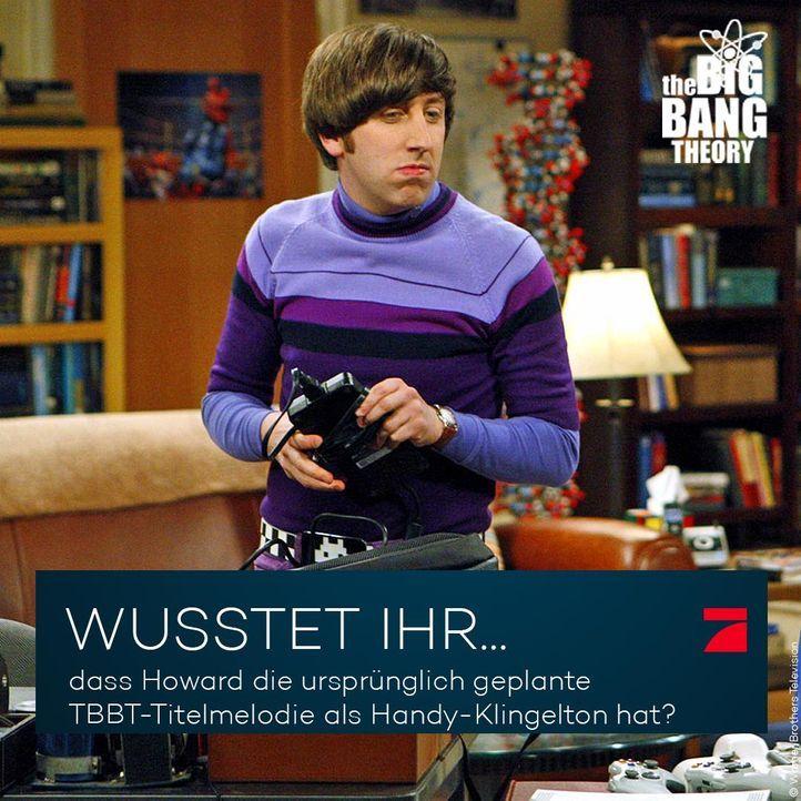 Big Bang Theory Trivia: Falsche Titelmelodie - Bildquelle: Warner Brothers Television