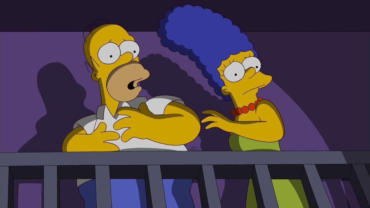 """Die Simpsons beugen sich dem öffentlichen Willen der Bürger von Springfield und finden Zuflucht in den """"Outlands"""", einer kleinen anarchistischen S... - Bildquelle: und TM Twentieth Century Fox Film Corporation - Alle Rechte vorbehalten"""